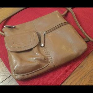 Tignanello Leather Crossbody EUC